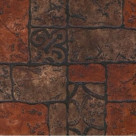 Керамогранит Бастион 4 коричневый 40х40 (1,76м2/84,48м2)