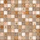 Керамогранит Орнелла коричневый арт-мозаика (5032-0199) 30х30