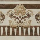 Декор напольный Агат бежевый 01 v2 40х40