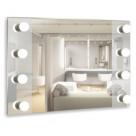 Зеркало МЕРЛИН 800х600 (8 ламп)