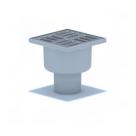 Трап ANI (TA-5202) 50мм с нерж.реш.10х10см прямой